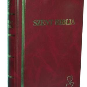 Biblia (bordó borító, 278x194 mm - 2010 átdolgozott kiadás)